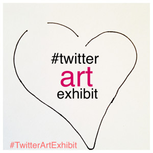 Graphic - Twitter Art Exhibit (Heart)