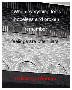 Feelings Are Often Liars